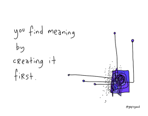Find Meaning by Creating It copia